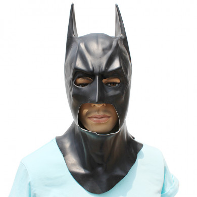 Batman Mask for Halloween Caretas Movie Bruce Wayne Cosplay Props