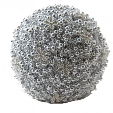 Gray Gorgeous Hand Beading Wedding bouquets for bride