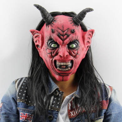 Halloween Masks Devil Inferno Satan Mask Horror Halloween Novelty for Cosplay