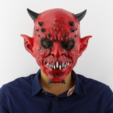 Halloween Masks Yaksha Horned beast Witch Cosplay Mask