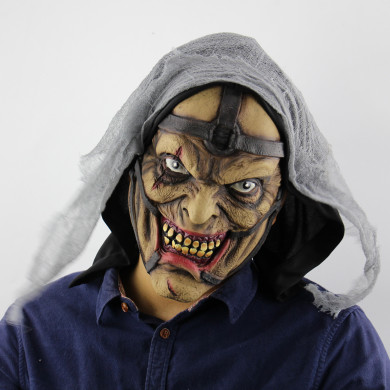 Halloween Wizard Mask Latex Ghost Mask Terrorist Zombie Haunted