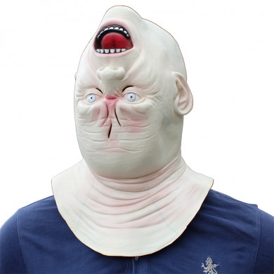 Upside Down Masks for Halloween or Party Costume Latex Head Mask
