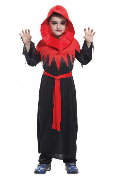 Red Black Hooded Halloween Easter Christmas Goth Vampire Priate for Kids