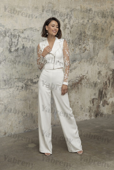 2021 Wedding Guest Outfits 2 Piece Bride Suits so-232