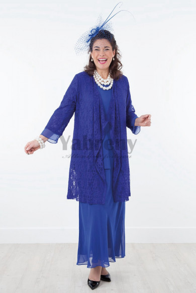 2020 Fashion Royal blue Mother of the bride dresses mps-017