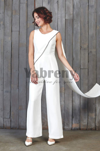 Fashion Bridal Jumpsuits With Shawl so-116