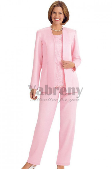 Pink Mother of the bride pantsuits women