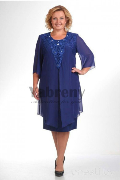 larger size  Royal Blue Mother Of The Bride Dresses mps-109