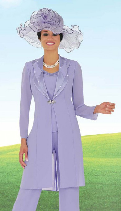 Lilac Mother of the bride pant suits Formal chiffon outfit dresses mps-160