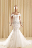 2020 Latest Fashion Glamorous Mermaid Off the Shoulder wedding dresses wd-020