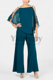 2020 New arrival Greenblack Hunter Two piece Mother of the bride Trousers mps-009