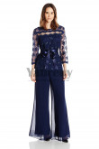 2020 New Arrival Navy pants suit mother of the beidal pants suite mps-052