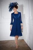 2020 Royal Blue Mother of the bride dress Floor-Length mps-158