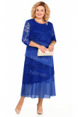 2021 Plus Size Royal Blue Ankle-Length Mother Of The Bride Dresses mps-449-3