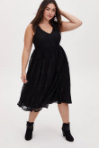 2021 Plus Size Women's Dresses,Elegant Black Lace Summer Dresses mps-420