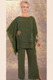 Dark Green Latest Fashion Elegant Loose Women's outfit mps-236