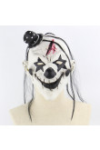 Devil clown Latex mask Terror Ghost Scary Mystery Mask Halloween
