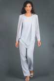 Elegant Hand Beading Elastic Mother of the bride pants suit mps-139
