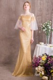New arrival Gold Special occasion dresses / Prom dresses so-005