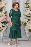 Green Lace Plus Size Women's Dresses Mermaid Mother of the Bride Dresses mps-456-3