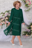 Green New Arrival Mother of the bride Dresses Plus Size Women's With Jacket mps-455-2
