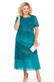 Greenblack Hunte Mother Of The Bride Dresses Green Plus Size Women's Dresses mps-449-4