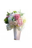 Glamorous Artificial Flowers Rose for Bridesmaids Bouquet with Aloe vera