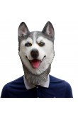 Husky Dog Latex Animal Head Mask Novelty Costume Rubber Masks