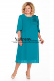 Light Blue Mid-Calf Plus size Dress, larger size Mother of the Bride Dresses mps-511-3
