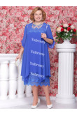 Light Royal Blue Plus Size mother of the bride Dresses under $100 Loose Dress Outfits mps-365