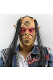 Halloween Masks Long-Hair red eyed demon for Carnival Party