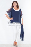 Modern Loose Dark Mother of the bridal pant suits mps-045