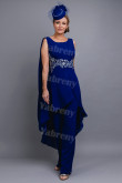 2020 Dressy Mother of the bride Jumpsuit  Royal Blue Women's Outfits mps-306
