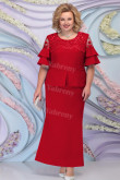 New Arrival Burgundy Ankle-Length Mother of the bride Dresses mps-454-2