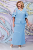 New Arrival Sky Blue Ankle-Length Mother of the bride Dresses mps-454-4
