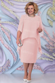 Pink Mother Of The Bride Dress Plus Size Chiffon Women's Dresses mps-447-4