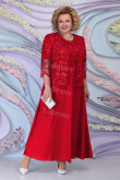 Plus size Red Mother of the Bride dresses Women's Outfits mps-443
