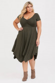 Plus Size Mid-Calf Women's Dresses,Tight Satin Mother Of The Bride Dresses mps-408