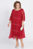 Burgundy Plus Size Mother Of The Groom Dress Special Occasion Dresses mps-452-2