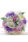 Popular Discount for Garden Wedding Party bride holding flowers