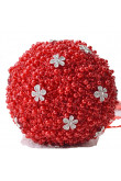 Red Gorgeous Hand Beading Wedding bouquets for bride