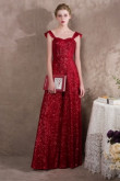 Burgundy Sequins Prom Dresses Jumpsuits Wide leg trouser so-040