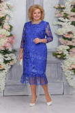 Royal Blue Lace Mermaid Mother of the Bride Dresses Plus Size Women's Dress mps-469-4
