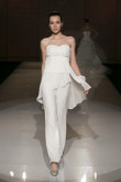 Sweetheart Empire chiffon wedding party jumpsuits pants dresses so-060