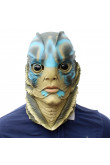The Shape of Water Headgear Cosplay Fish Face Masks for Funny Halloween Party Props