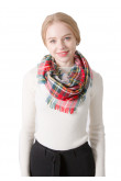 Women's Plaid Scarf Pretty Infinity Spring Fall Winter Scarves for Ladies