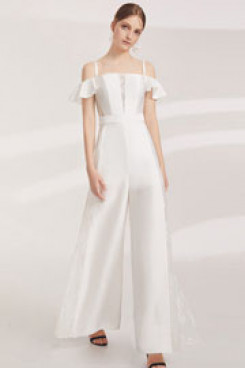 New arrival Spaghetti Bridal Jumpsuit Women's pantsuits so-157