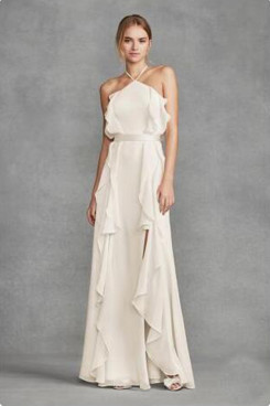 2020 Beach Spring Discount Garden bridal  jumpsuits So-205