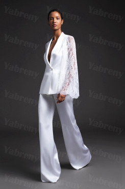 2020 Latest Fashion Modern Wedding Jumpsuit Women Prom Suits so-221