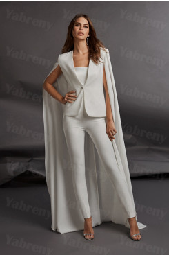2020 Latest Fashion Two kinds of wears Wedding Jumpsuit Strapless Prom outfits so-223